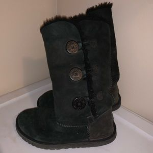 ugg australia tall bailey button boots